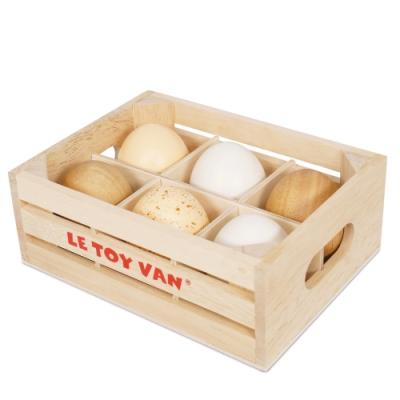 英國 Le Toy Van 角色扮演系列-蘋果西洋梨水果盒玩具組