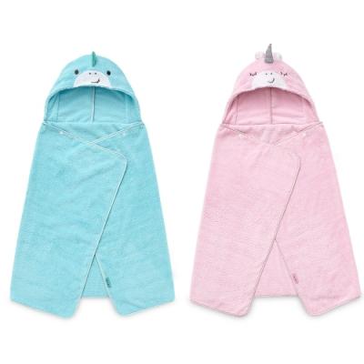 奇哥 吸濕速乾造型浴袍/浴巾(2色選擇)