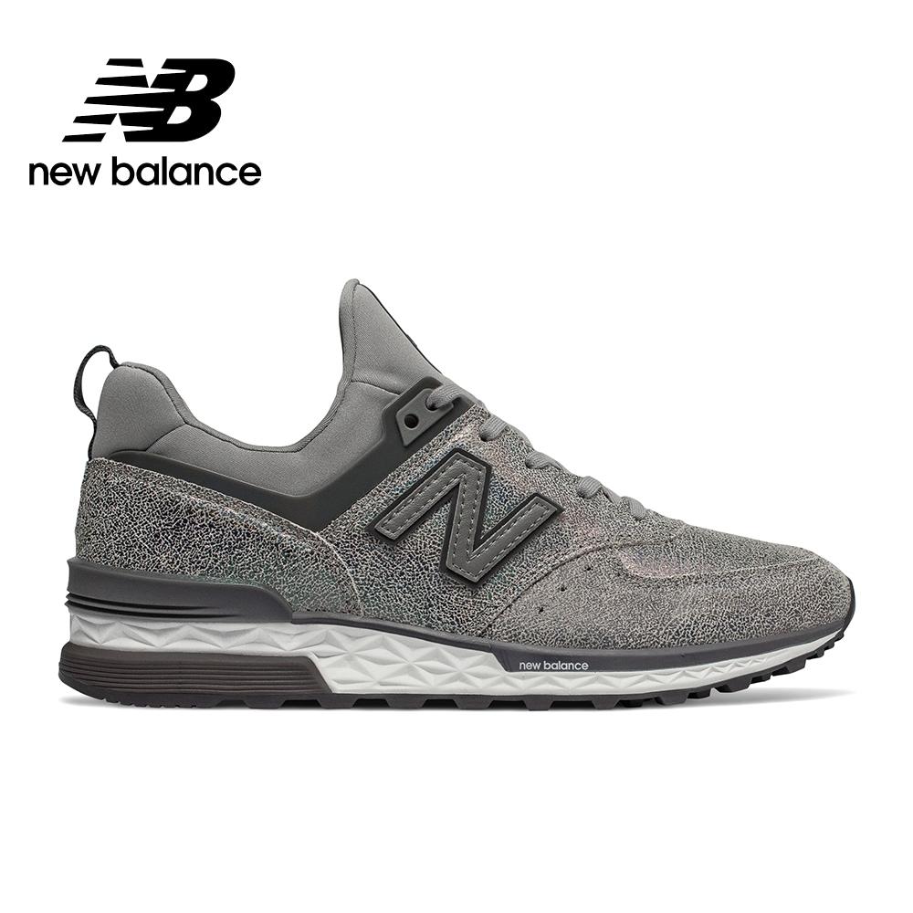 New Balance 574休閒鞋_女性_鐵灰_WS574TRB-B