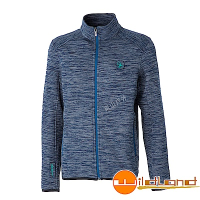 Wildland 荒野 0A52616-72深藍色 男雙色輕量保暖外套