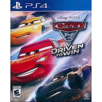 汽車總動員 3:全力取勝 Cars 3: Driven to Win -PS4 中英文美版