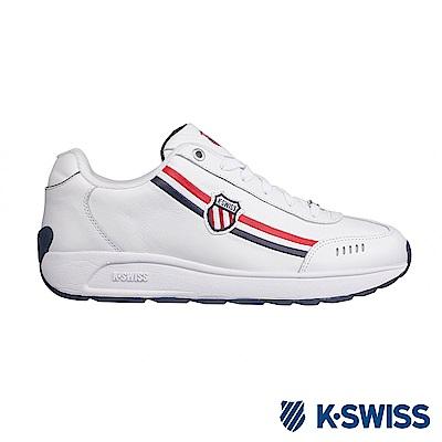 K-SWISS Enstev休閒運動鞋-男-白/藍/紅