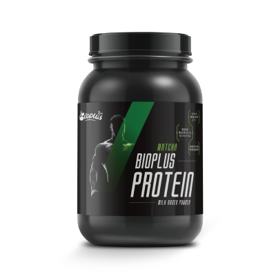 BioPlus Protein 乳清蛋白(抹茶) - 2.56 KG/桶
