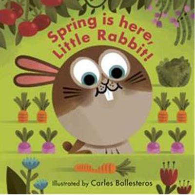 Little Faces:Spring Is Here, Little Rabbit! 春天來了變臉操作書