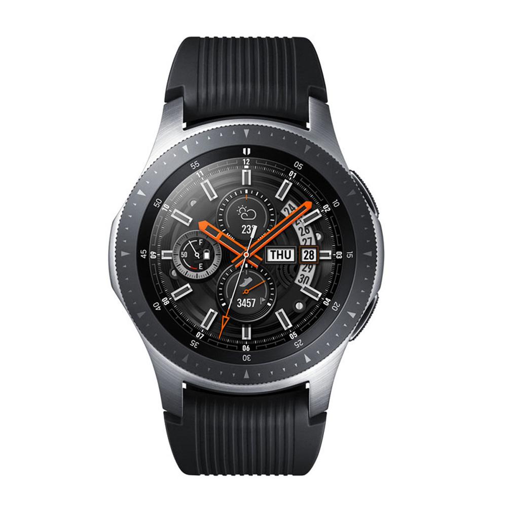 【LTE版】Samsung Galaxy Watch 智慧型手錶 (46mm)-星燦銀 送原廠錶帶+夾式鏡頭組+遊戲序號卡