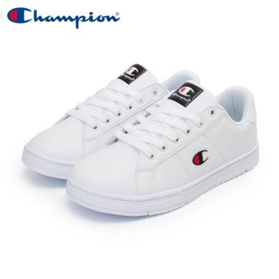 【Champion】CC Tennis 2 運動休閒鞋 女鞋-白/黑(WFUS-0010-01)