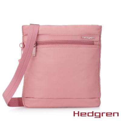 【Hedgren】INNER CITY輕量隨身 側背包-能量粉