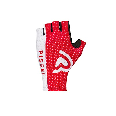 【PISSEI】ONEGA GLOVES- ROSSO/BIANCO競技型超輕量手套