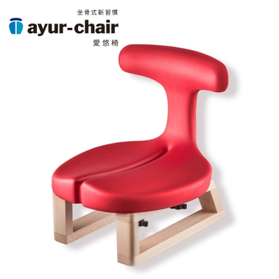 愛悠椅 Ayur-chair 盤腿款_紅(701010023)