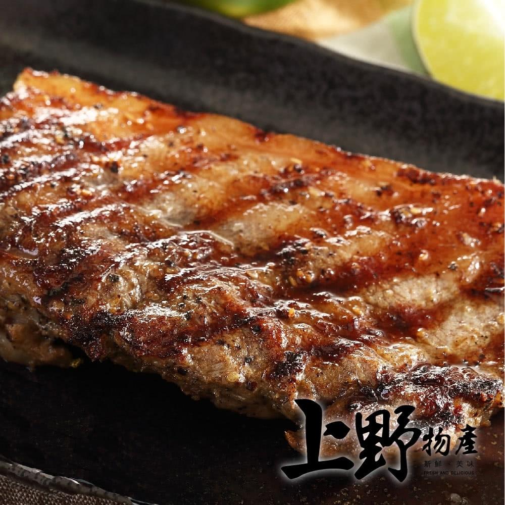 【上野物產】年菜-客家名產鹹豬肉 (360g土10%/片) x3片