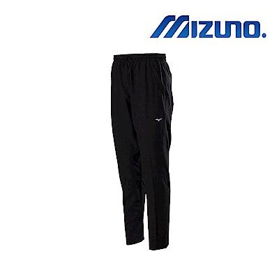 Mizuno 美津濃 男平織長褲 黑 32TD858409