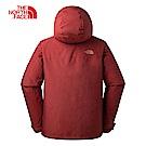 The North Face北面男款紅色防水保暖三合一外套|3L6Z2V5