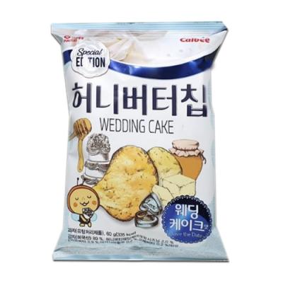海太 蜂蜜奶油洋芋片-結婚蛋糕味(60g)