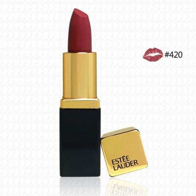 【真品平輸】ESTEE LAUDER 絕對慾望奢華潤唇膏1.2g(#420)