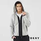 DKNY 男款 美式字母休閒連帽外套 灰