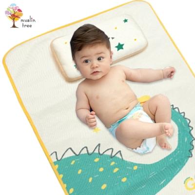 Muslintree涼感床墊寶寶嬰兒床冰絲涼蓆