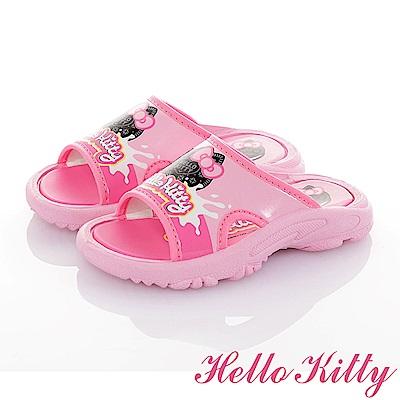 HelloKitty OREO系列 輕量減壓拖鞋童鞋-粉