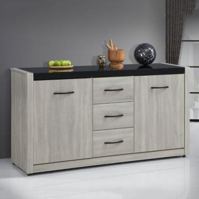 MUNA 依琳5.3尺餐櫃/碗盤櫃(下座) 157.6X41.8X82cm
