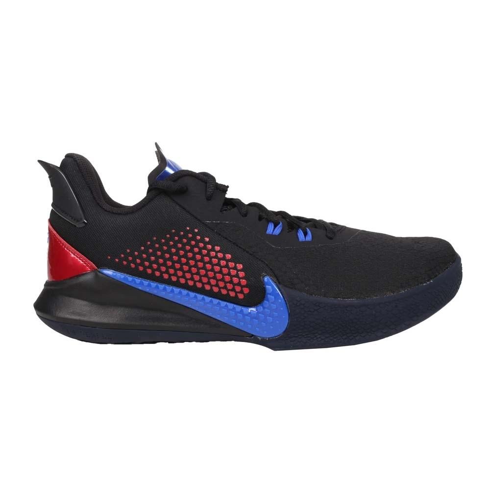 NIKE MAMBA FURY EP 男籃球鞋-KOBE 黑曼巴 XDR 明星款 CK2088004 黑紅藍