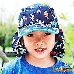 JUNIPER 抗UV防紫外線防曬護頸披風童帽
