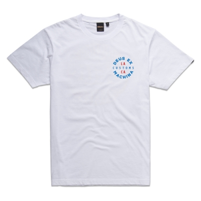 Deus Ex Machina  Capital Tee T恤 -(白)