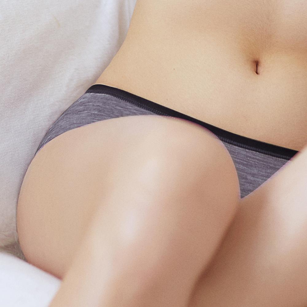 推EASY SHOP-ㄅㄤ挺 中腰平口褲(優雅紫)
