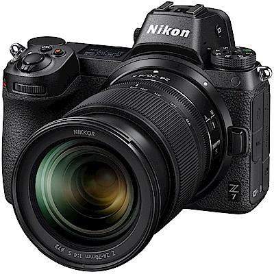 [雙鏡組]Nikon Z7 24-70 Kit 相機+Z 50mm F18 S (公司貨)