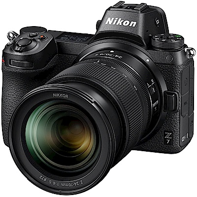 [雙鏡組]Nikon Z7單機身+FTZ+Z 24-70 f/4 S+Z 50 f18(公司貨)