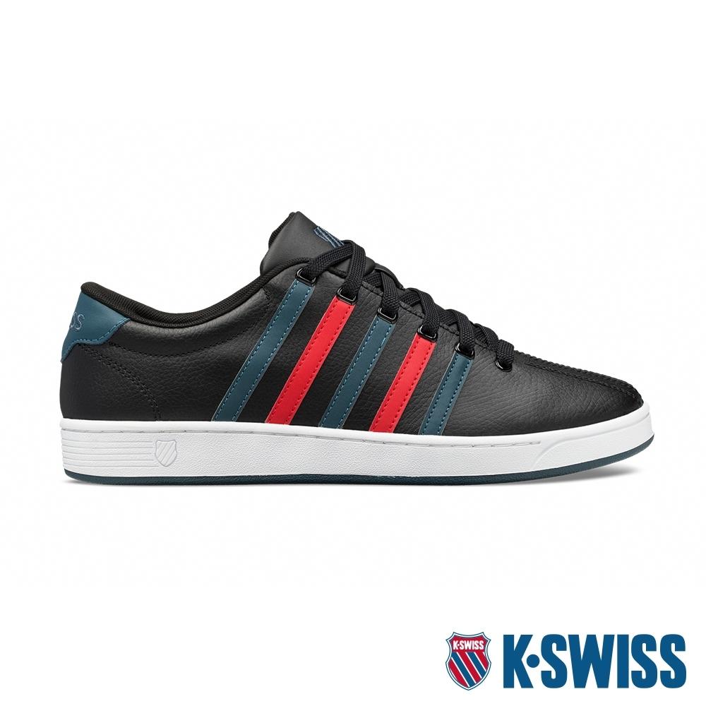 K-SWISS Court Pro II CMF時尚運動鞋-男-黑/藍/紅