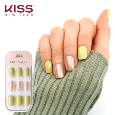KISS New York-Press&Go頂級光療指甲貼片(檸檬草的味道 KPNA15KA)