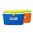 【索樂生活】韓國KOMAX戶外露營行動保溫冰箱桶40L.攜帶手提式食物收納隨身保冷藏箱