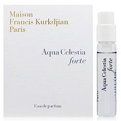 MFK Aqua Celestia forte 天際之水淡香精 針管 2ml