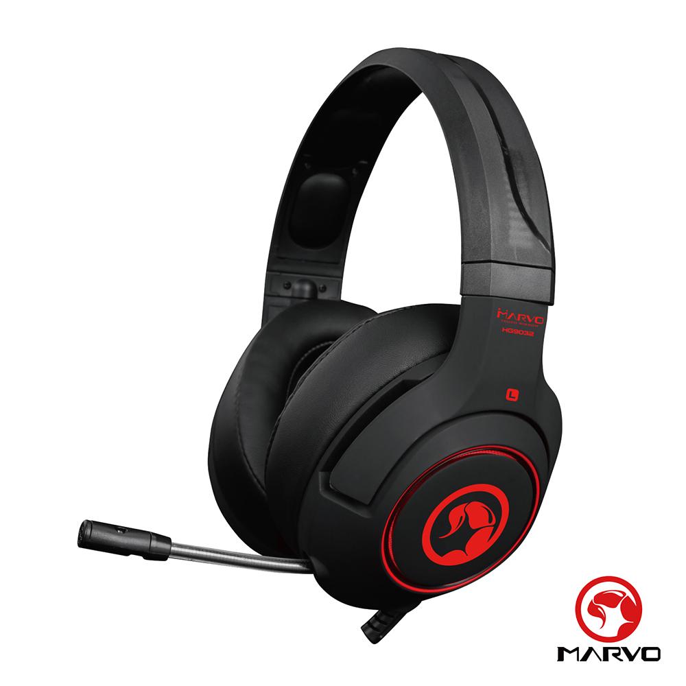 【MARVO魔蠍】HG9032 7.1聲道環繞音效 電競耳罩式耳機