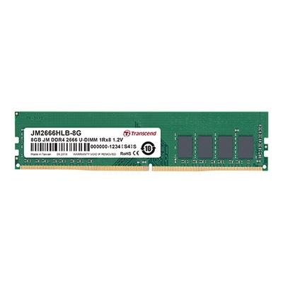 Transcend JetRAM DDR4-2666MHz 8GB 桌上型記憶體 (JM2666HLB-8G)