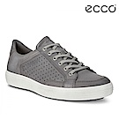 ECCO SOFT 7 MEN'S 經典輕巧休閒鞋-灰
