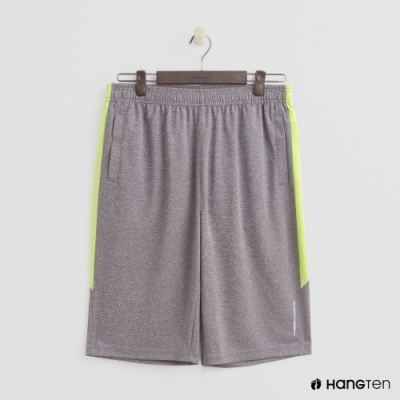 Hang Ten - 男裝 - ThermoContro-純色運動機能短褲 - 灰