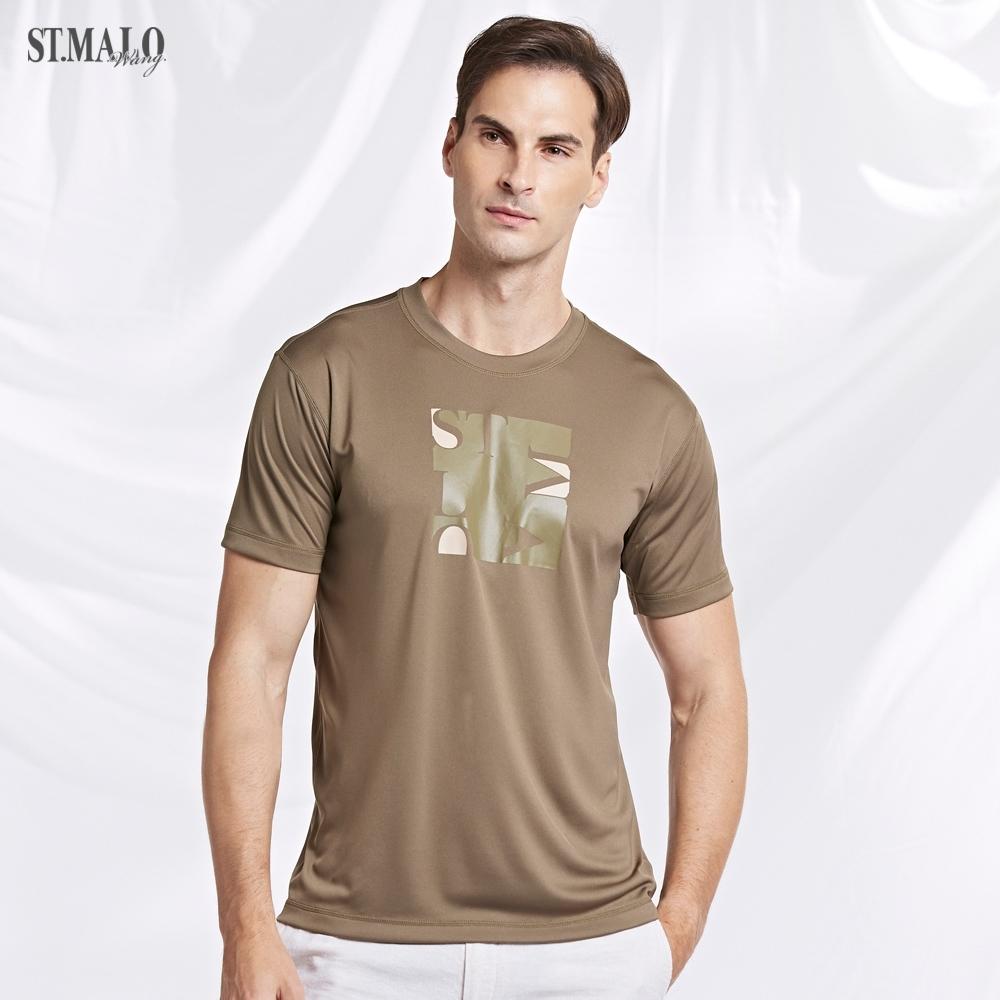 【ST.MALO】0秒吸排PRO級MIT防曬絲光男上衣(5色)