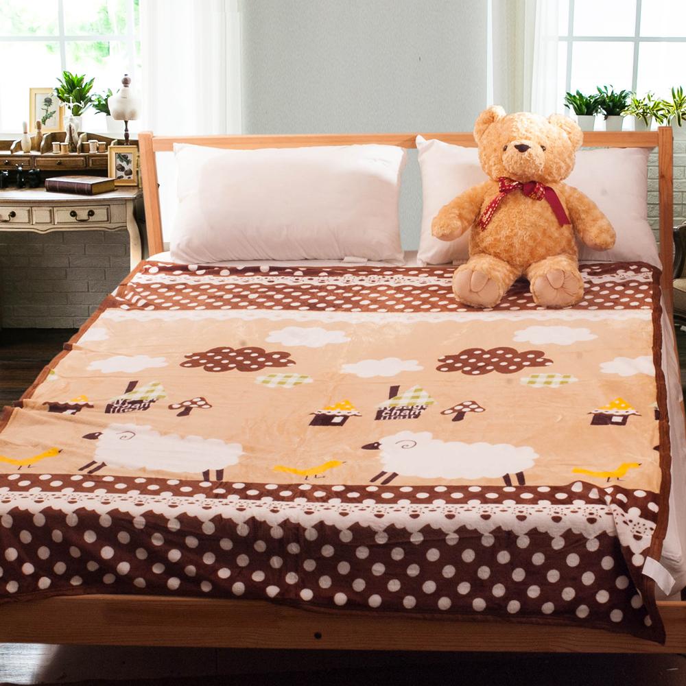 Carolan 得意羊羊   法萊絨四季毯(150x200cm) @ Y!購物