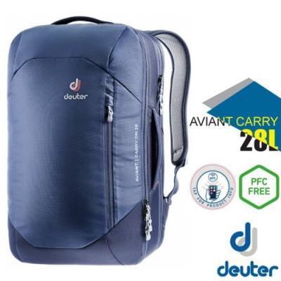 Deuter AVIANT CARRY ON 28L 專業休閒電腦後背包_藍