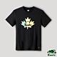 Roots男裝-湖畔小木屋系列 楓葉元素短袖T恤-石墨色 product thumbnail 1