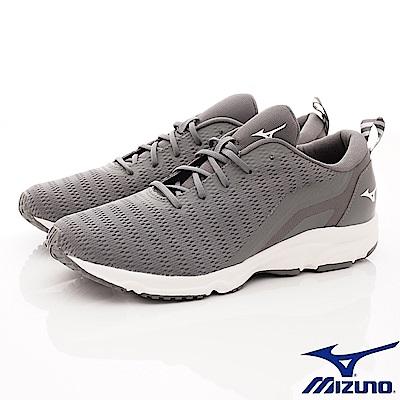 Mizuno美津濃-避震慢跑鞋-185503灰(男段)