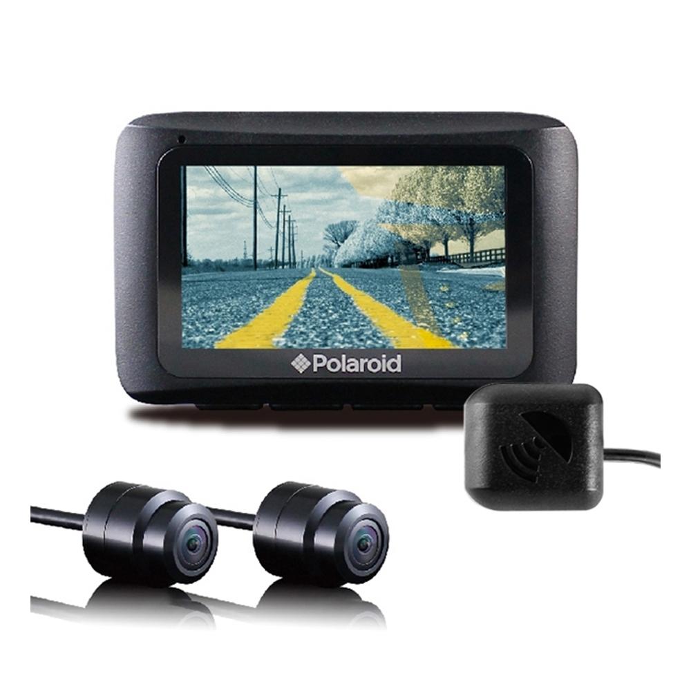 Polaroid 寶麗萊 MS273WG 蜂鷹夜視雙鏡 GPS機車行車記錄器