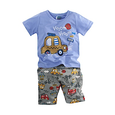 男童短袖清涼套裝 k51076 魔法Baby