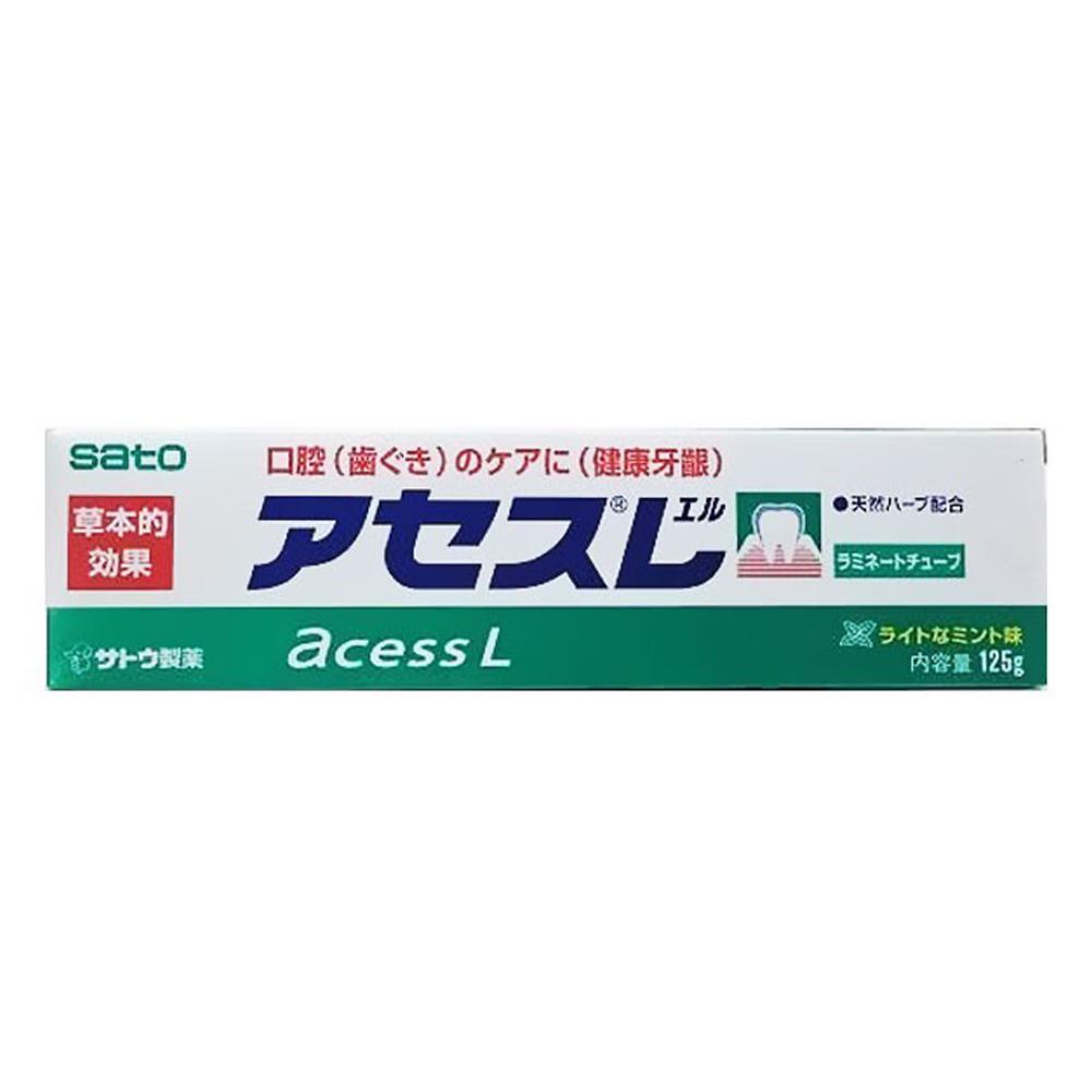 佐藤sato 雅雪舒L牙齦護理牙膏 125g