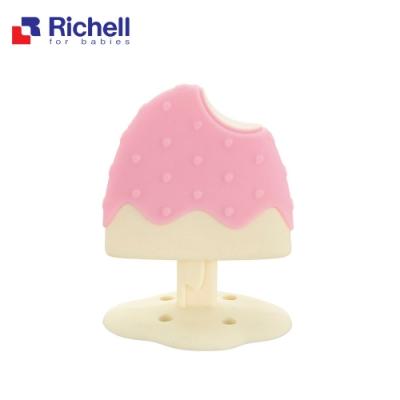 Richell 利其爾 寶寶咬咬系列固齒器 - 冰棒 (附盒)