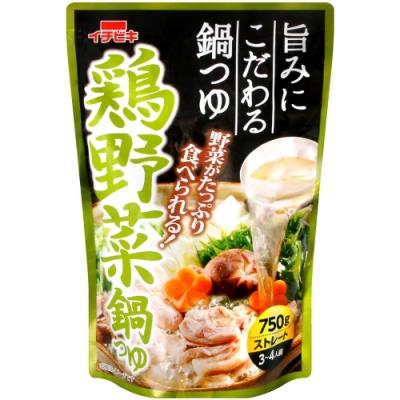 ichibiki 火鍋高湯底[蔬菜雞風味](750g)