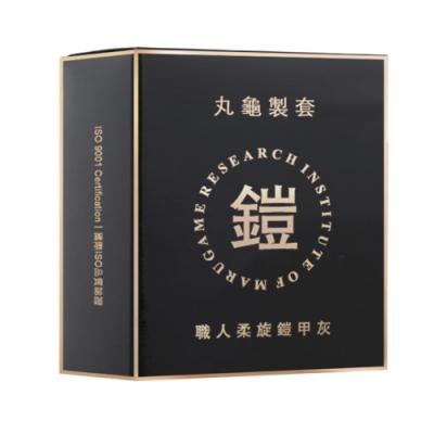 丸龜製套 職人螺旋鎧甲灰-環紋型(6入/盒)