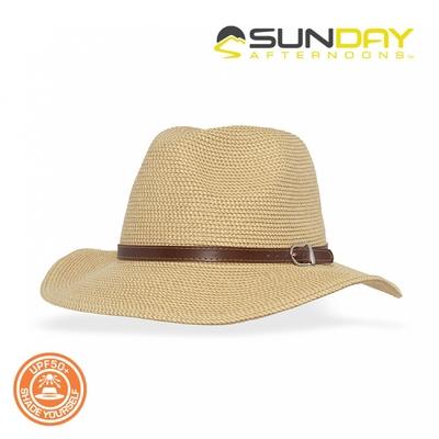 Sunday Afternoons 女款 抗UV透氣典雅紳士帽 S2C27368C【自然褐Natural】