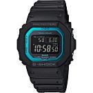 CASIO 卡西歐 G-SHOCK 藍芽電波手錶-藍(GW-B5600-2)