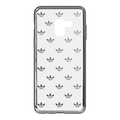 SAMSUNG GALAXY A8 adidas logo原廠透明背蓋台灣公司貨